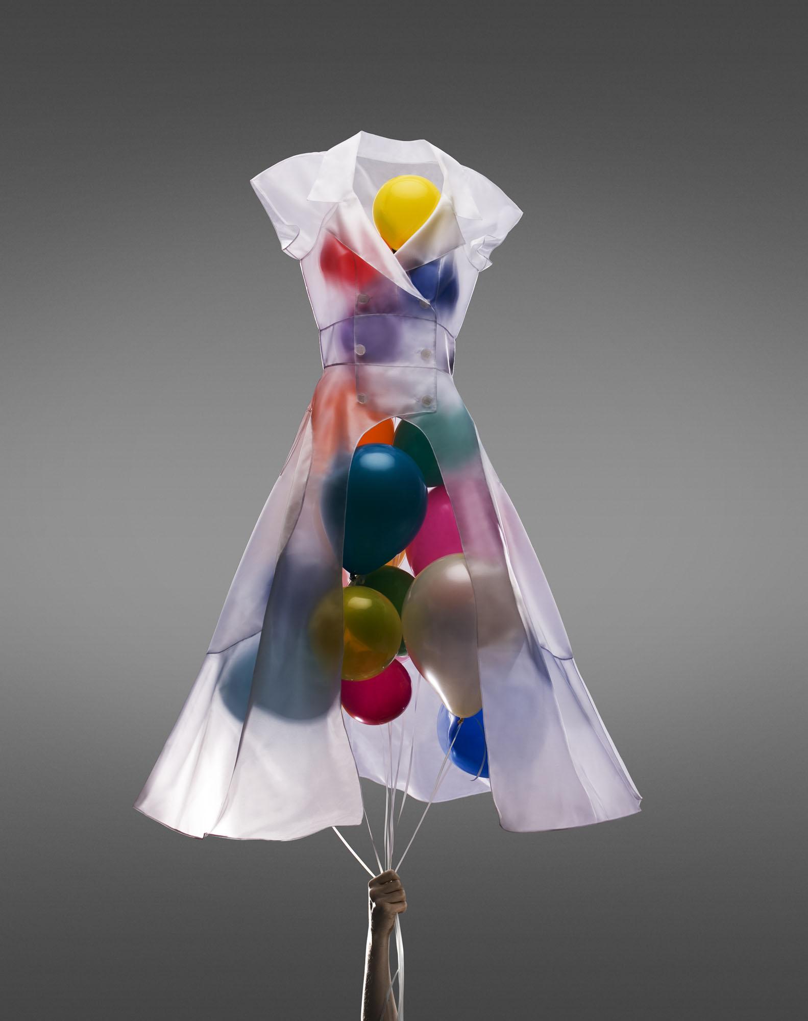 Платье из шариков своими руками