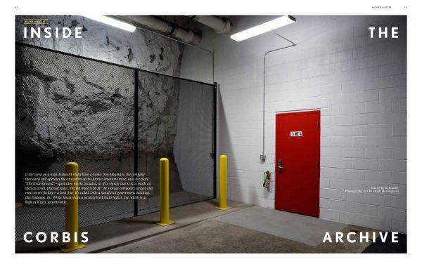 Christoph MORLINGHAUS shoots Corbis Archive For LEXUS / Beyond Magazine
