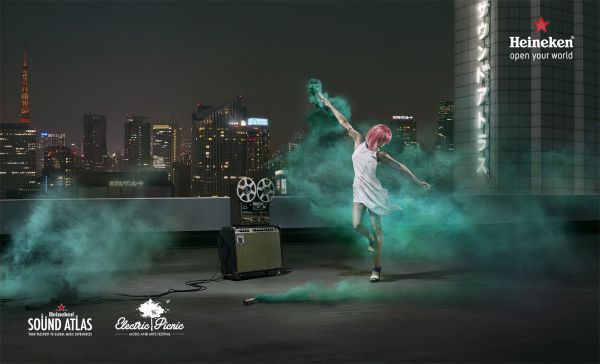"HEINEKEN ""Open Your World"" Campaign by NICK & CHLOE"