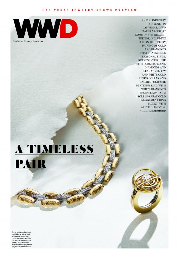 Claire Benoist for WWD / Couture Jewelry and Watches