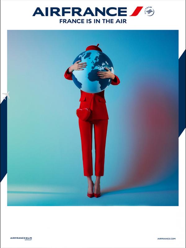 Nick & Chloé for Air France