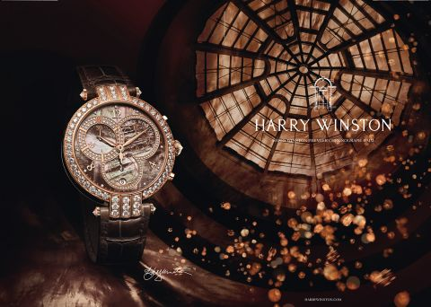 isabelle Bonjean for Harry Winston