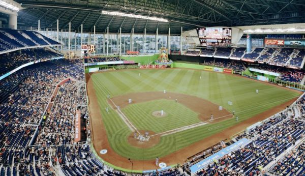 Christoph MORLINGHAUS shoots MARLIN'S stadium for FORTUNE